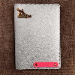 Silver Custom Wallet -...